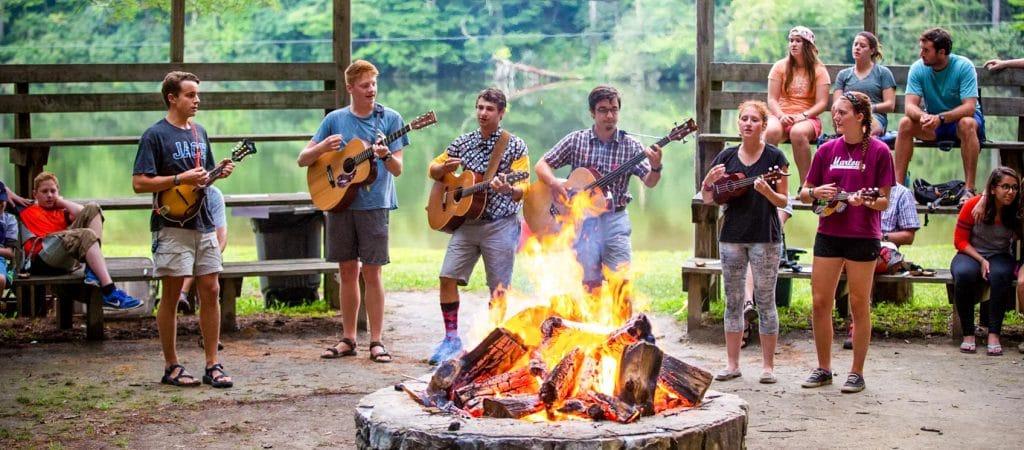 guitar-campfire
