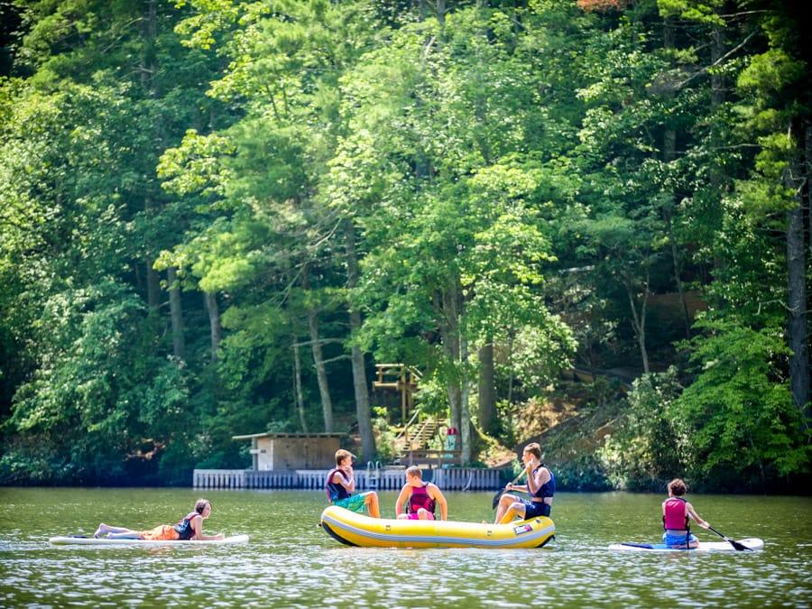 raft-lake