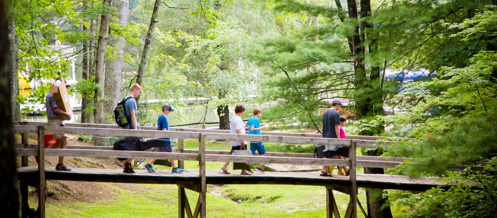 walking-to-camp
