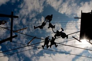 Camp Pinnacle adventure park ropes course